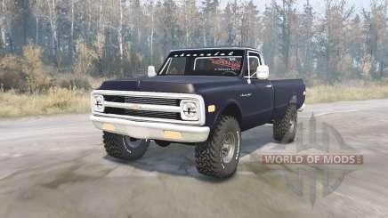 Chevrolet C10 para MudRunner