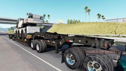 Fontaine Magnitude 55L Terex v1.1 para American Truck Simulator