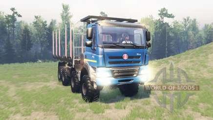 Tatra Phoenix T 158 8x8 v11.1 para Spin Tires