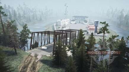 Inundado el pueblo de v2.0 para MudRunner