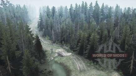 Bosque de pino 2 para MudRunner