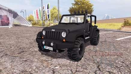 Jeep Wrangler (JK) v2.0 para Farming Simulator 2013