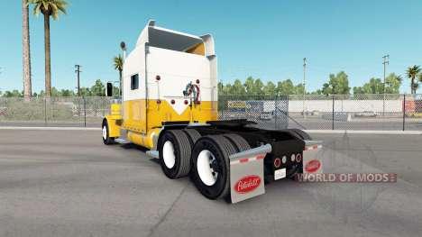 Crema para la piel de Oro para el camión Peterbilt 389 para American Truck Simulator