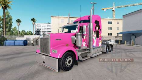 La piel Nico en el camión Kenworth W900 para American Truck Simulator