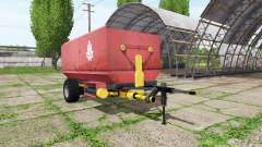 Fodder mixer para Farming Simulator 2017