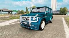Mercedes-Benz G 65 AMG (W463) para Euro Truck Simulator 2
