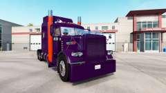 Púrpura de piel de color Naranja para el camión
