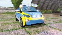 BMW i3 (I01) autobahnplizei