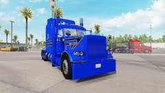 La piel Azul de la Pistola para el camión Peterb