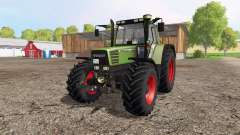 Fendt Favorit 515C Turbomatik para Farming Simulator 2015
