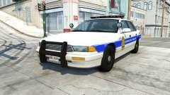 Gavril Grand Marshall honolulu police v1.03 para BeamNG Drive