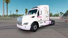 Super Sonico de la piel para el camión Peterbilt