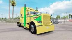 Piel de color Amarillo a Verde para el camión Pe