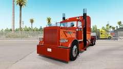 La piel Marrón de Polvo en el camión Peterbilt 3