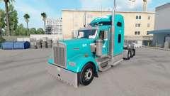 La piel Tum en el camión Kenworth W900