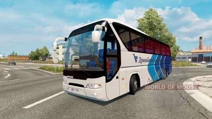 Bus traffic v1.6 para Euro Truck Simulator 2