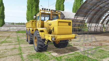 Kirovets K 701 dumper 6x6 v1.2 para Farming Simulator 2017