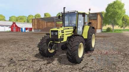 Hurlimann H488 Turbo Prestige front loader para Farming Simulator 2015