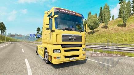 MAN TGA v1.4 para Euro Truck Simulator 2