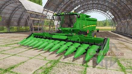John Deere S680i para Farming Simulator 2017