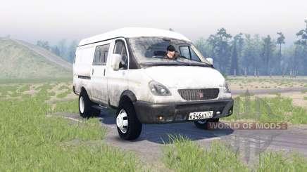 GAS-2705 Gacela para Spin Tires