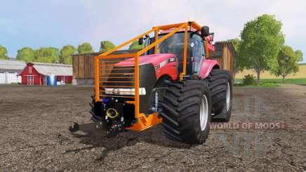 Case IH Magnum CVX 380 forest para Farming Simulator 2015