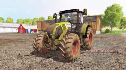 CLAAS Axion 820 front loader para Farming Simulator 2015