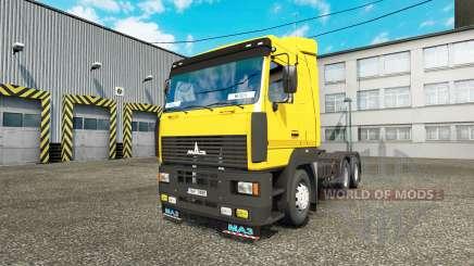 MAZ 6430 para Euro Truck Simulator 2