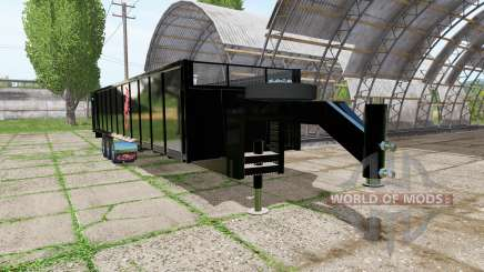 Fliegl tipper trailer para Farming Simulator 2017