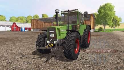 Fendt Favorit 615 LSA Turbomatik para Farming Simulator 2015