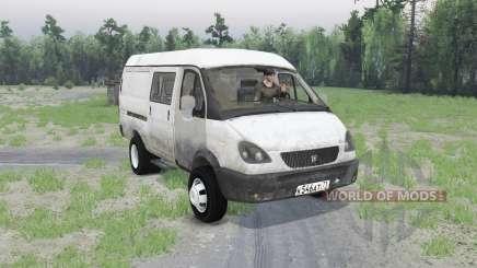 GAS-2705 Gacela v1.01 para Spin Tires