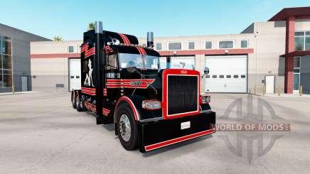 Скин Sur de Puta Costumbre на Peterbilt 389 para American Truck Simulator