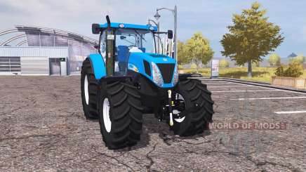 New Holland T7030 v2.0 para Farming Simulator 2013