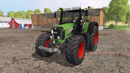 Fendt 820 Vario front loader para Farming Simulator 2015