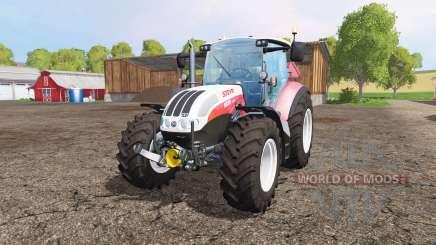 Steyr CVT 6230 front loader para Farming Simulator 2015