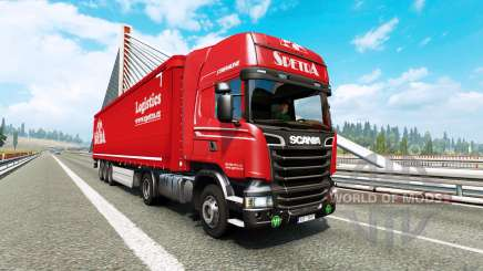 Painted truck traffic pack v2.9 para Euro Truck Simulator 2