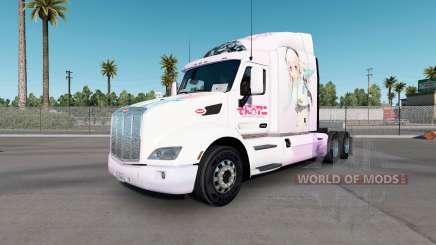 Super Sonico de la piel para el camión Peterbilt 579 para American Truck Simulator