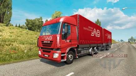 Tandem truck traffic v1.6.1 para Euro Truck Simulator 2