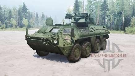 BTR-4E Bucéfalo para MudRunner