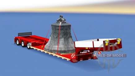 Doll Vario with big bell para Euro Truck Simulator 2
