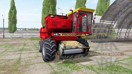 No 1500B rojo para Farming Simulator 2017