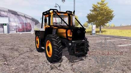Mercedes-Benz Trac 1600 Turbo forest para Farming Simulator 2013