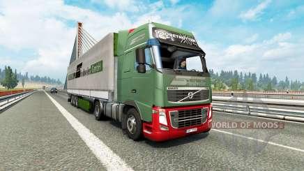 Painted truck traffic pack v3.2 para Euro Truck Simulator 2