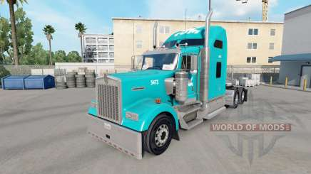 La piel Tum en el camión Kenworth W900 para American Truck Simulator
