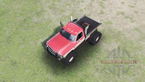Dodge Power Ram 250 para Spin Tires