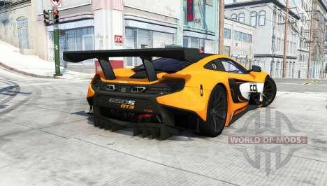 McLaren 650S GT3 2014 para BeamNG Drive