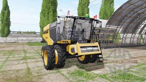 CLAAS Lexion 780 north america para Farming Simulator 2017