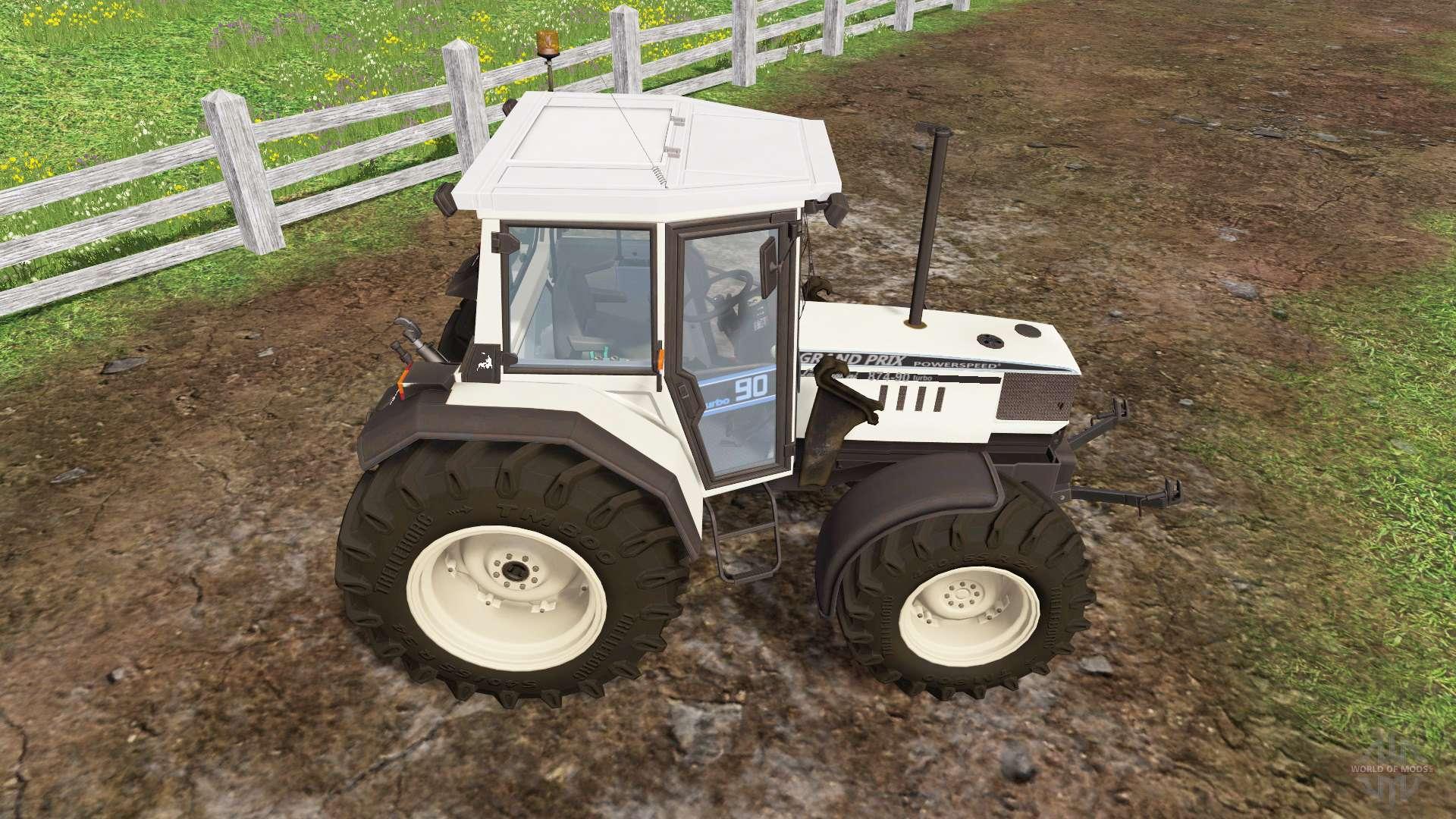 Lamborghini 874 90 Turbo Front Loader Para Farming Simulator 2015