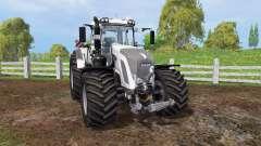 Fendt 933 Vario white para Farming Simulator 2015
