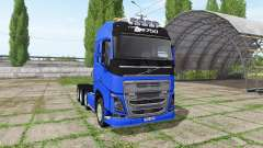 Volvo FH16 8x8 para Farming Simulator 2017